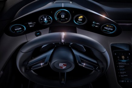 The first 100% electrically powered Porsche is on its way
