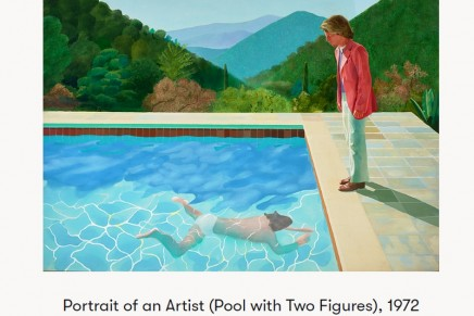 David Hockney painting earns record $90.3m for living artist
