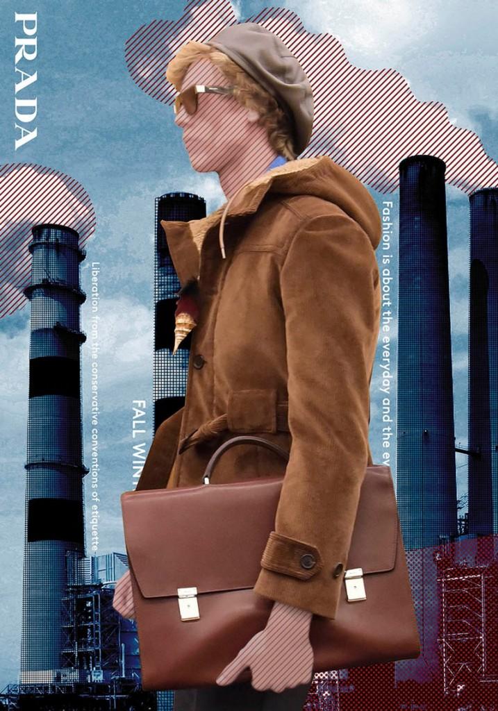 prada at galeries lafayettes 2017-poster