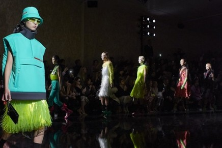 Prada's Milan show captures the dazzling and the intricate
