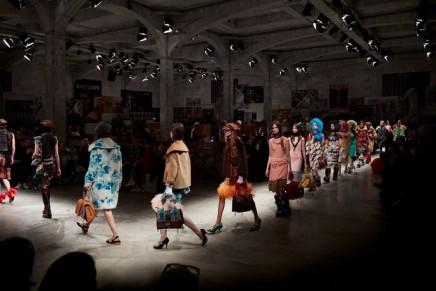 Milan fashion week: Miuccia Prada returns to feminist form