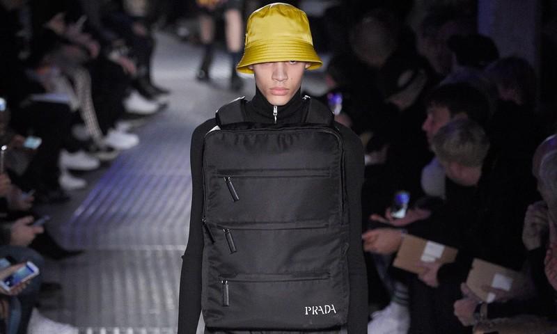 prada menswear fashion show fall winter 2018