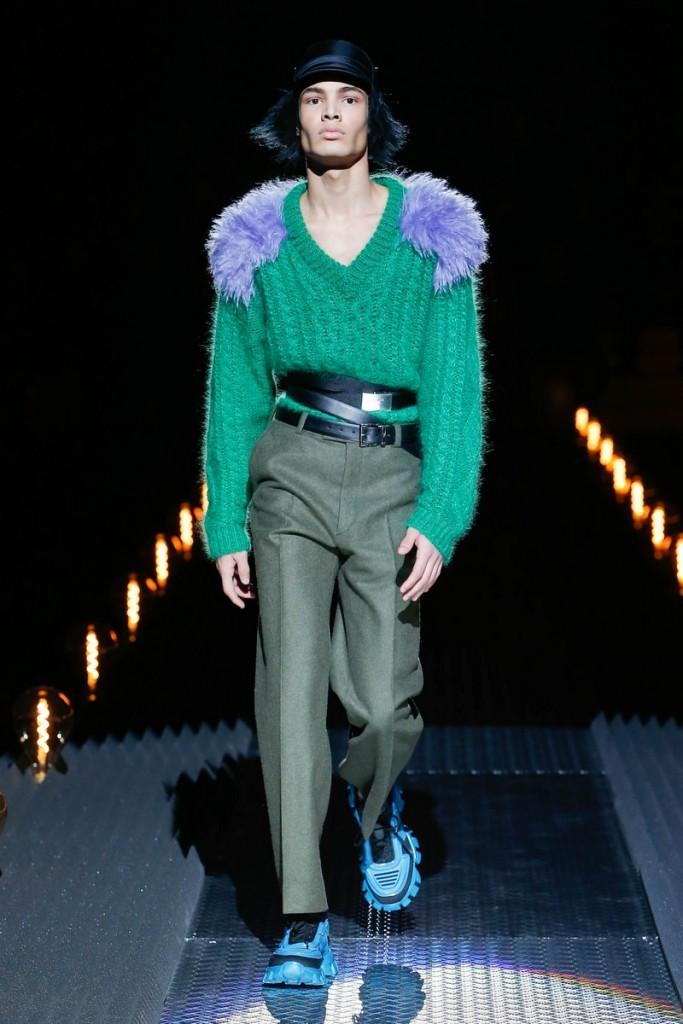 prada menswear show fall winter 2019-2020