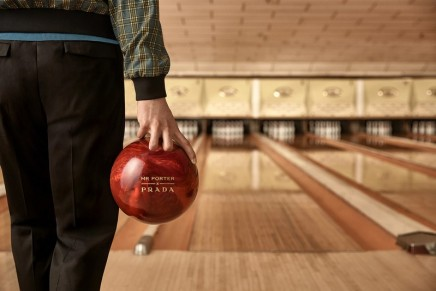 Prada x MR PORTER reunited for a bowling-themed capsule collection