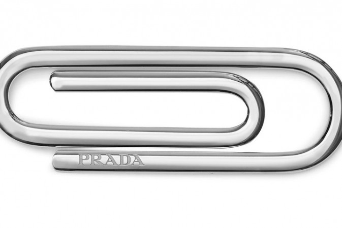 Is the $185 Prada 'paperclip' fashion's latest mundane must-have?