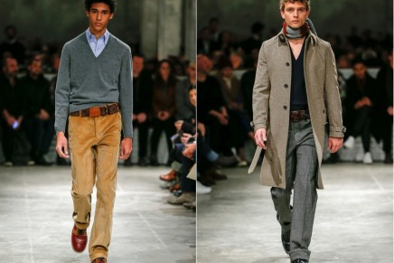 From Prada to Louis Vuitton: how the V-neck jumper went haute