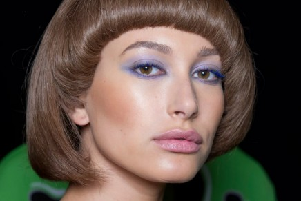 Purple reigns when it comes to eye shadow