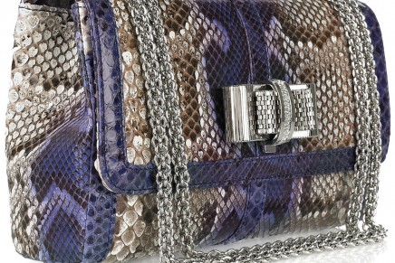 Illegal python skins feed hunger for fashionable handbags and shoes