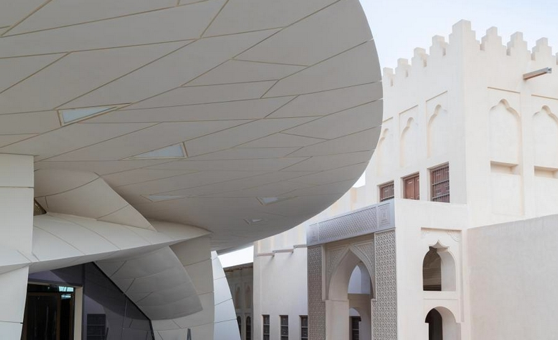 qm-org-qatar-museums-2019- View of the newly restored historic palace Photo Iwan Baan