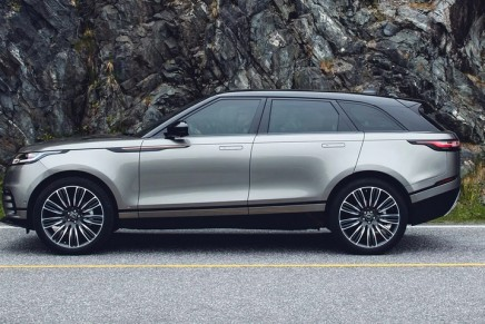 Range Rover Velar: 'It feels like the brand's flagship model'