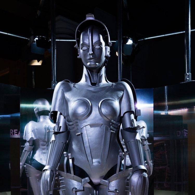 replica of maria the robot