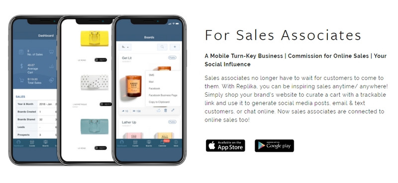 replika for sales associates