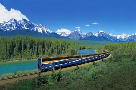 Western Canada by train: Rockies on a roll