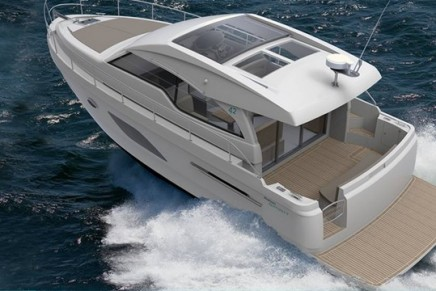 London Boat Show 2018: New Rodman SPIRIT 42 Coupé is sure to make waves in the vibrant market of the hard top sports cruiser