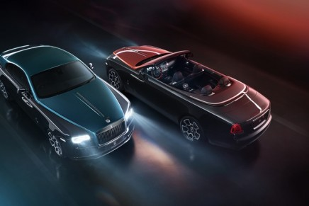 Adamas by Rolls-Royce – a dark aesthetic of unbreakable carbon structures