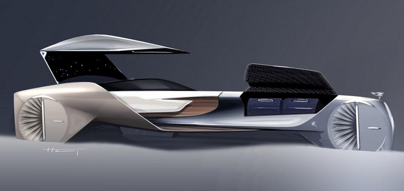 rolls-royce driverless car