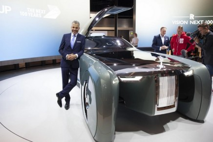 """The Vision Next 100 – the autonomous vehicle aimed at """"the most discerning and powerful patrons in the world"""""""