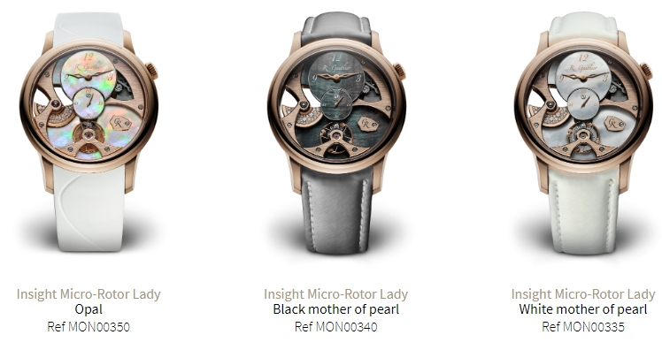 romain gauthier insight micro rotor lady collection