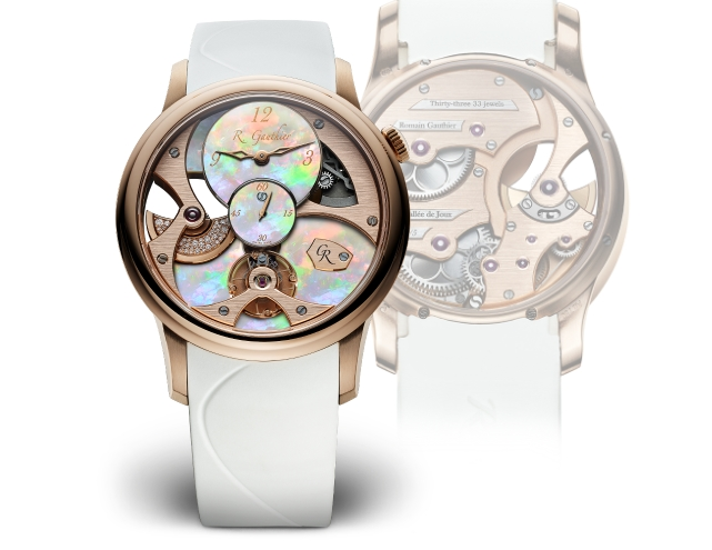 romain gauthier insight micro rotor lady opal collection