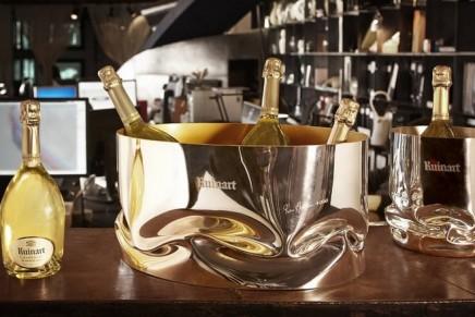 Ron Arad's exclusive champagne vasque for Ruinart
