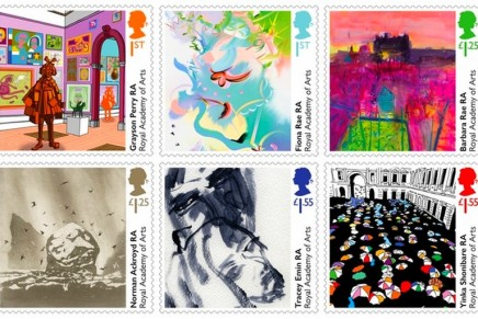 Buy a masterpiece for 67p! New stamps by Tracey Emin, Yinka Shonibare, Grayson Perry and more