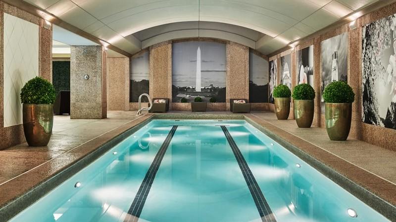 saline pool -Four Seasons Hotel Washington, DC