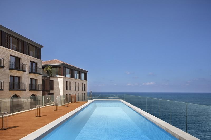 setai tel aviv - the pool