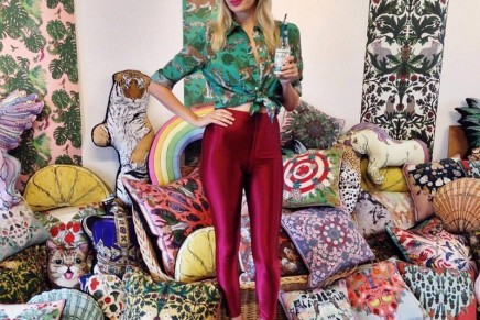 The joy of textiles: Britain's new fabric designers