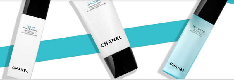 simple and effective makeup removers from Chanel 2019 collection