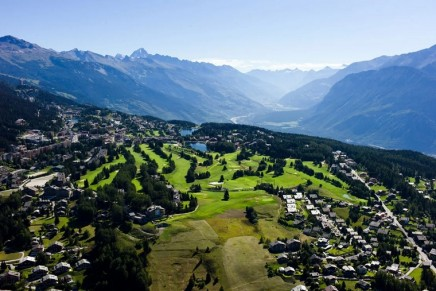 """This new luxury resort aims to take the booming """"hotel-residence"""" concept to the mountains of Switzerland"""