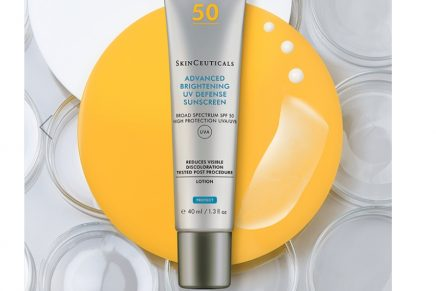 Facial sunscreens with a skincare boost