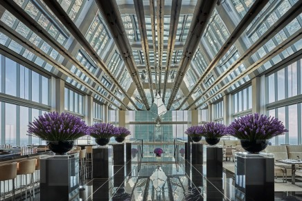 With unobstructed city views from the Comcast Center, the highest situated Hotel in North America is now open