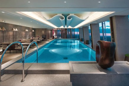 Swim in the highest swimming pool in Western Europe
