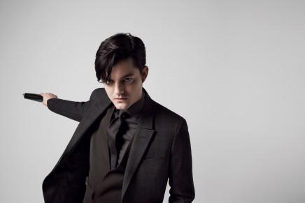 Sam Riley is the new Ermenegildo Zegna Couture man