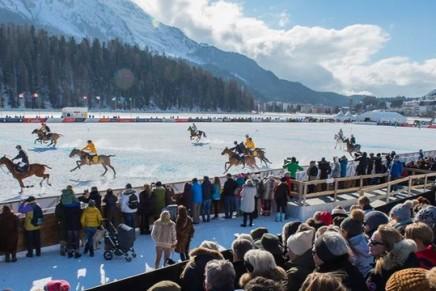 Maserati Polo Tour 2017 at the Snow Polo World Cup St. Moritz
