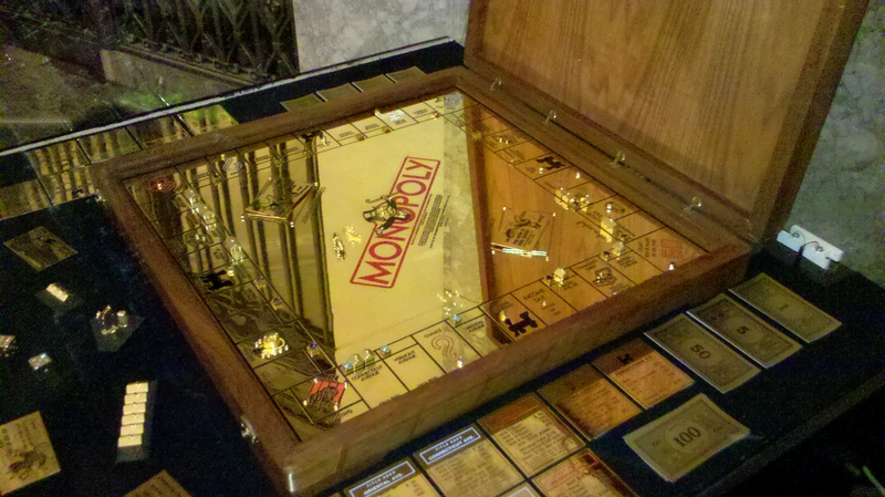 solid gold monopoly