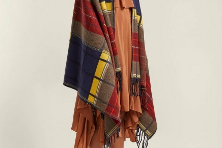 Under wraps: the rise of the blanket-scarf