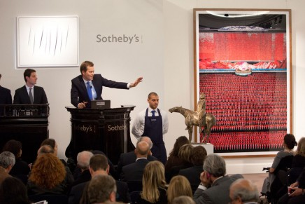 Sotheby's and eBay to sell world class art and collectibles online