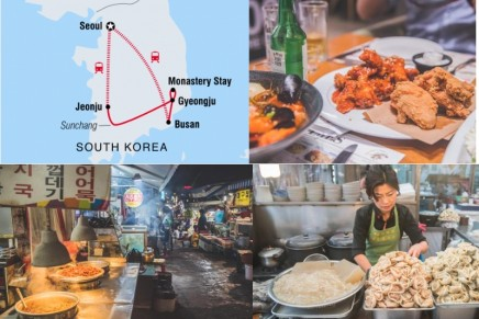 A foodie tour of South Korea