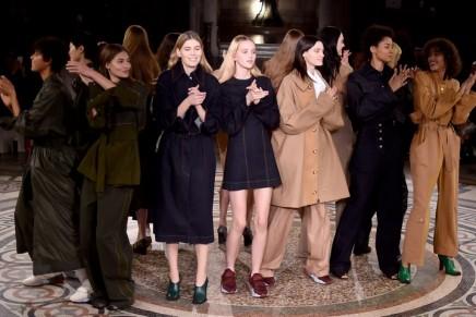 Fur flies as Stella McCartney unveils 'skin-free skin' in Paris