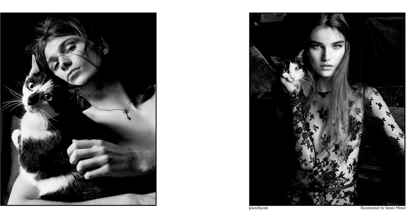 steven meisel for givenchy ad campaign