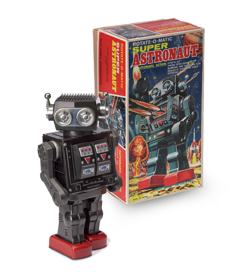super-astronaut toy robot