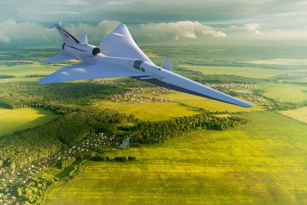 Quiet supersonic technologies and X-planes at AirVenture 2018