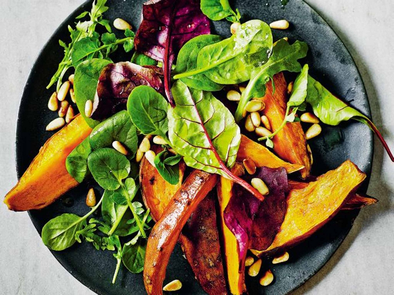 sweet potatoes - The best anti-aging foods that keep you young and active