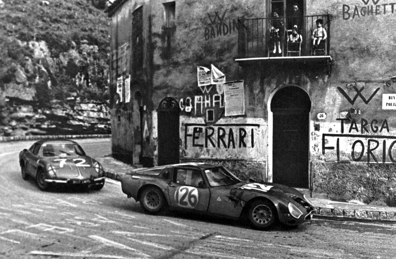 targa florio race historic photos