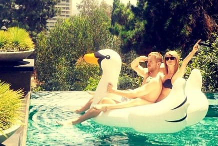 Taylor Swift swan frolic prompts huge expansion in sales of inflatables