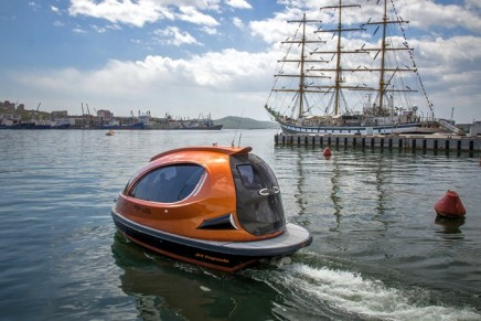 The Super Jet Capsule – the high-tech water transport
