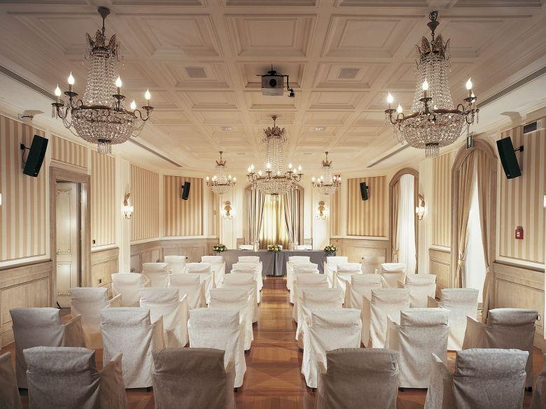 the Hotel Cristallo is the ideal place for top-tier events