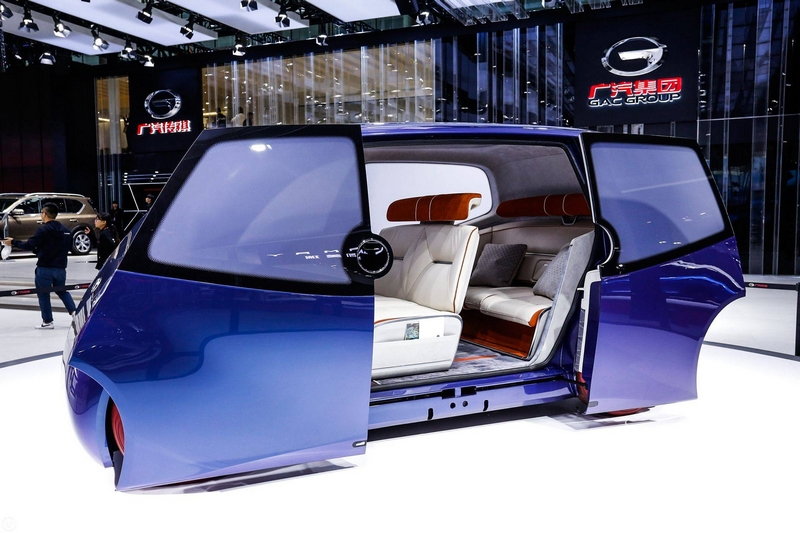 the concept car iSPACE