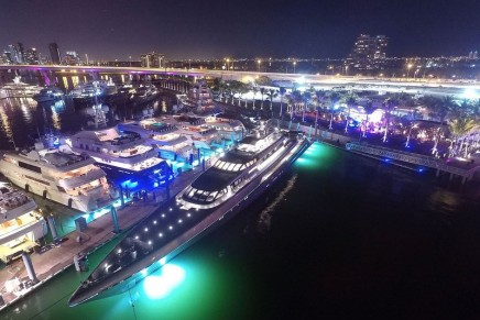 The Deck at Island Gardens launched in North America's newest superyachting capital